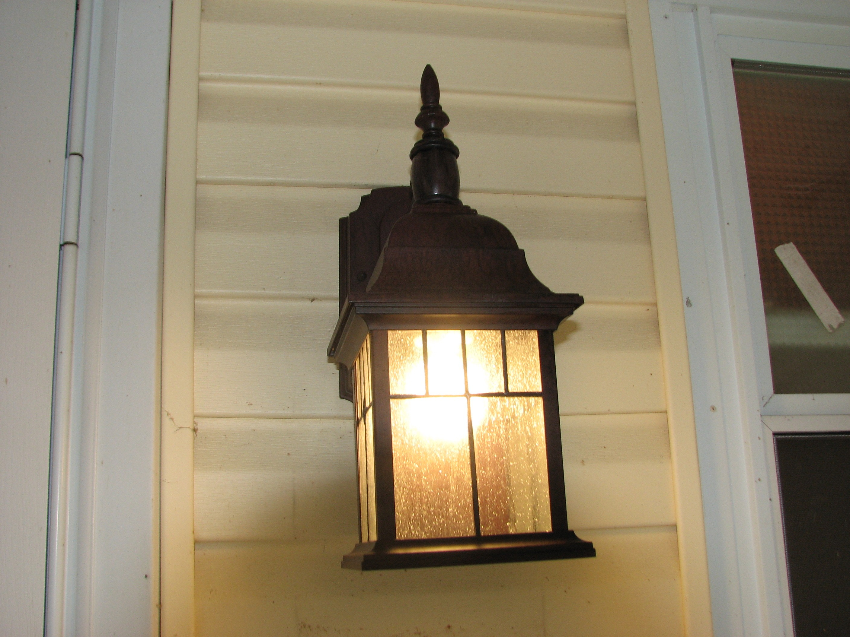 Replacing Exterior Wall Lights : Outdoor Porch Lights Front Porch Lights Outdoor Wall Lighting Front MR11 LED Bulb 12 LEDs LED ...